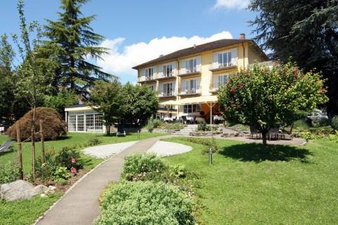 Garten Vom Hotel Lindenallee In Lindau