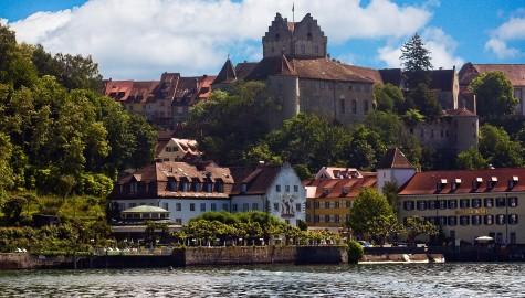 Die Meersburg am Bodensee