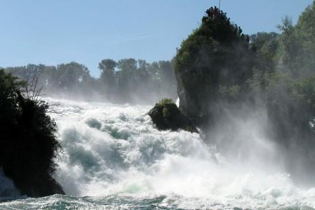 Rheinfall bei Schaffhausen am Bodensee