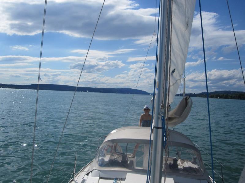 Segelturn Am Bodensee